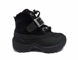 a507c8722 Timberland Infant Toddler MALLARD MID BUNGEE Waterproof Boots Black ...