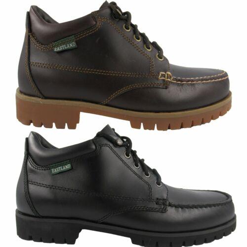 Eastland Mens Brooklyn Classic Moc Toe Lace Up Boots