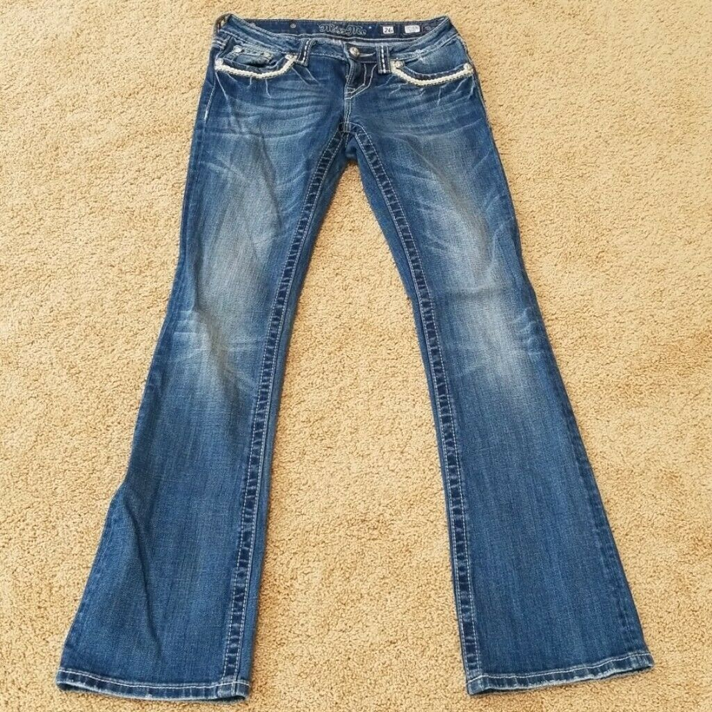 Miss Me bluee Size 26 Boot Cut Jeans