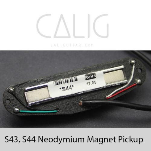 CALIG S43,S44 Neodymium Magnet RAIL Single size Humbucker Pickup