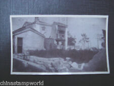 old China real photo,south china house,siez 10.5x6.4cm