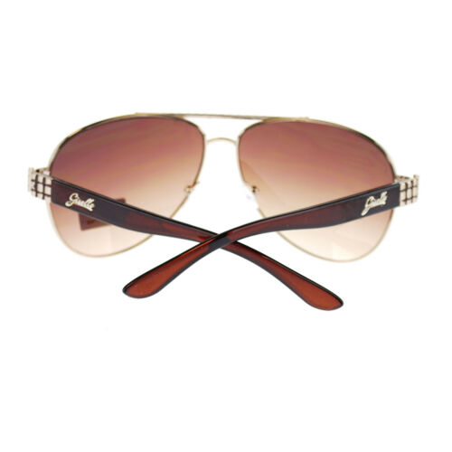 Giselle Womens Retro Luxury Designer Fashion Aviator Boyfriend Large Sunglasses