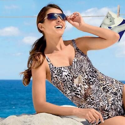 Naturana Badebekleidung Bikini Set Top /& Slip 72423 Grün Marine