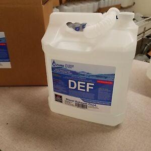 Diesel Exhaust Fluid >> Details About Def 2 5 Gal Diesel Exhaust Fluid