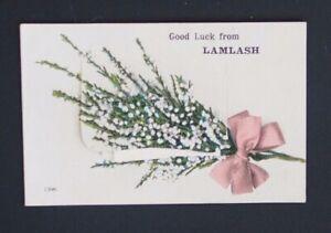 Vintage-Coloured-Postcard-NOVELTY-PULL-OUT-from-LAMLASH-Isle-of-Arran-Unused