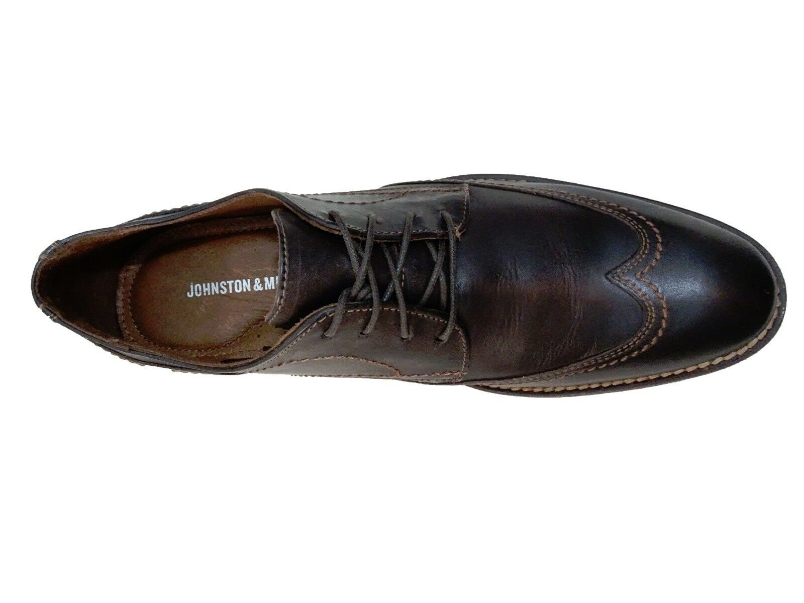 Johnston & Murphy Uomo Jarrell Jarrell Jarrell Wingtip Lace Up Derby Business Casual Dress Shoes 1529a4