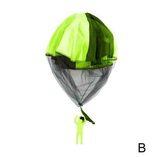 Outdoor Mini kids Educational Funny Toy Playing Hand Throwing Parachute P6K2