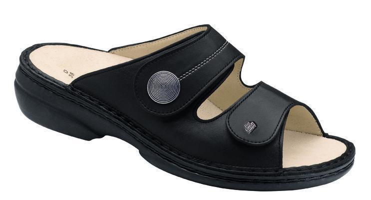 Finn Damenpantolette Comfort  Sansibar schwarz Damenpantolette Finn Größe 39 48af57