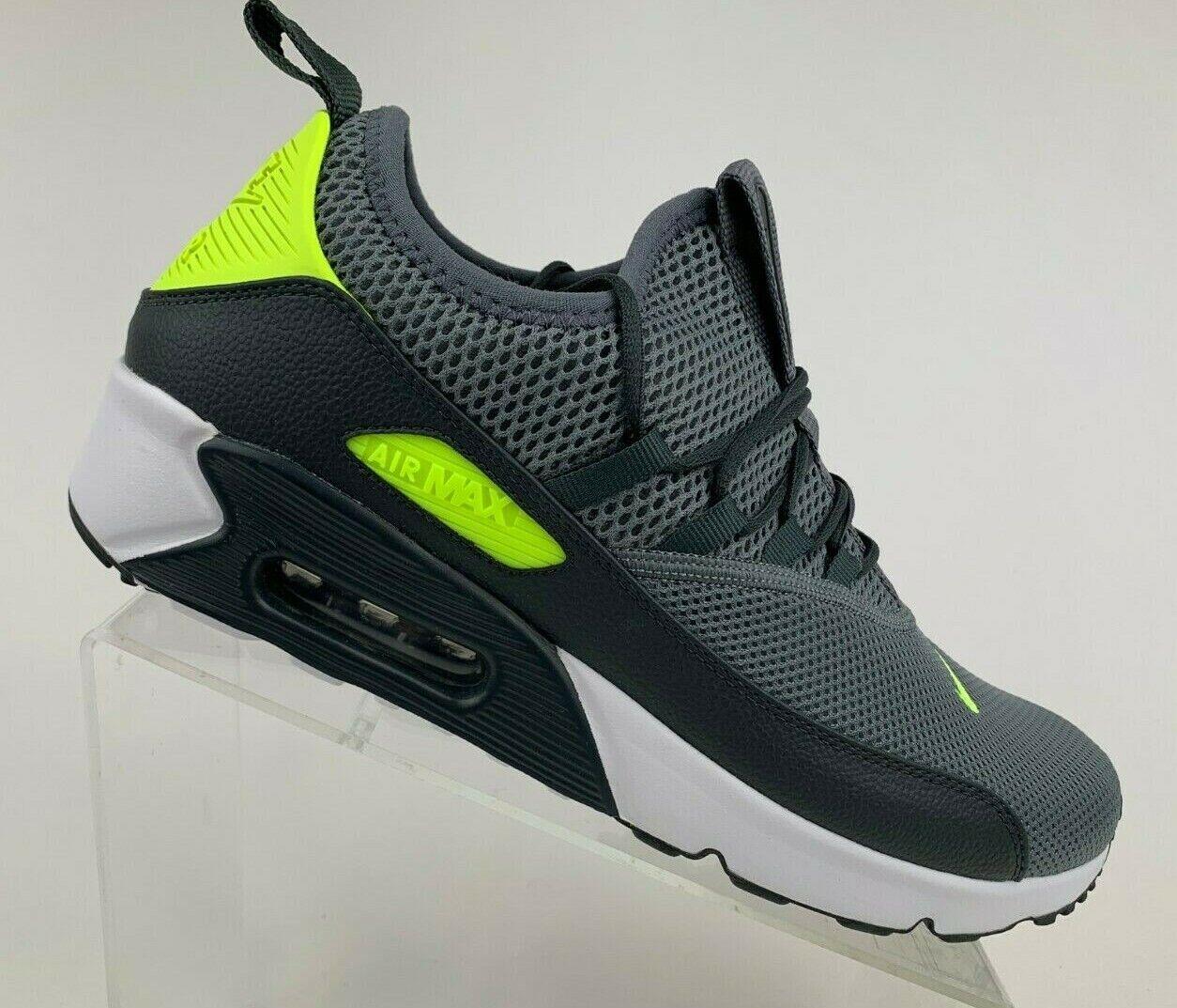 Nike Air Max 90 EZ Cool GreyVolt Anthracite Men's Shoes AO1745 003 Multi SZ