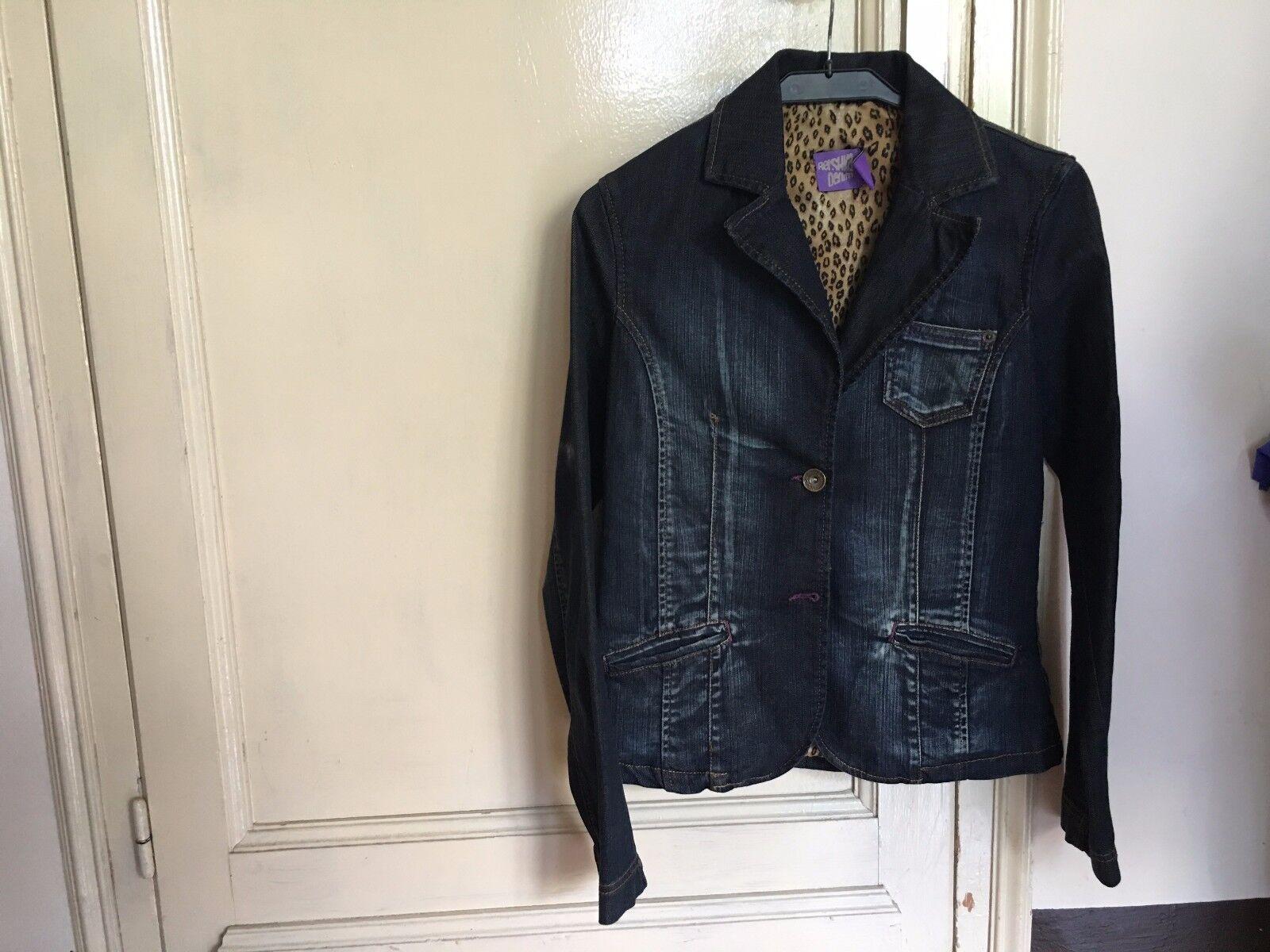 Used - Jacquek BERSHKA DENIM Americana - Size L  Mex 30 - Jeans Tejana - Usado