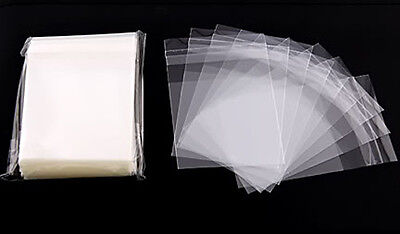 100 OPP SELF ADHESIVE SEAL CLEAR PLASTIC BAG 6X9