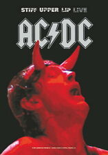 "AC/DC FLAGGE / FAHNE ""STIFF UPPER LIP LIVE"" POSTER FLAG"