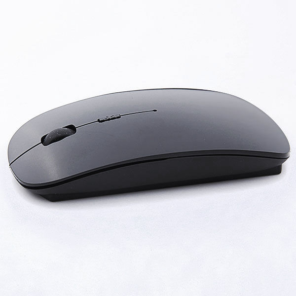 USB Wireless Mouse Mice 2.4G Receiver Super Slim Mouse BLACK#00BK8141
