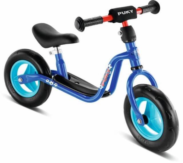 PUKY Laufrad LR M blau / Fußball - für Kinder ab 2 Jahren / ab 85m Körpergröße