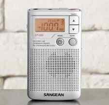 NEW SANGEAN POCKET AM/FM RADIO WITH SPEAKER & DIGITAL TUNING DT250