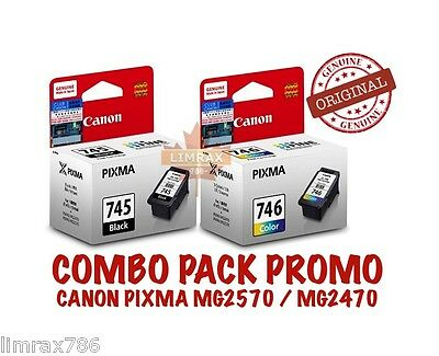 GENUINE CANON PIXMA PG745 /& CL746 INK CARTRIDGE FOR PIXMA MG2570 /& MG2470