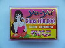 YA-YA Gluta 100,000 Super Skin Lightening Soap + Vitamins A.C & E  1 x 80g LIKAS