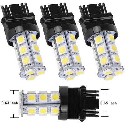 10X T25 3156 COB 12 SMD LED Car Tail Brake Light Stop Turn Light Lamp Cold White
