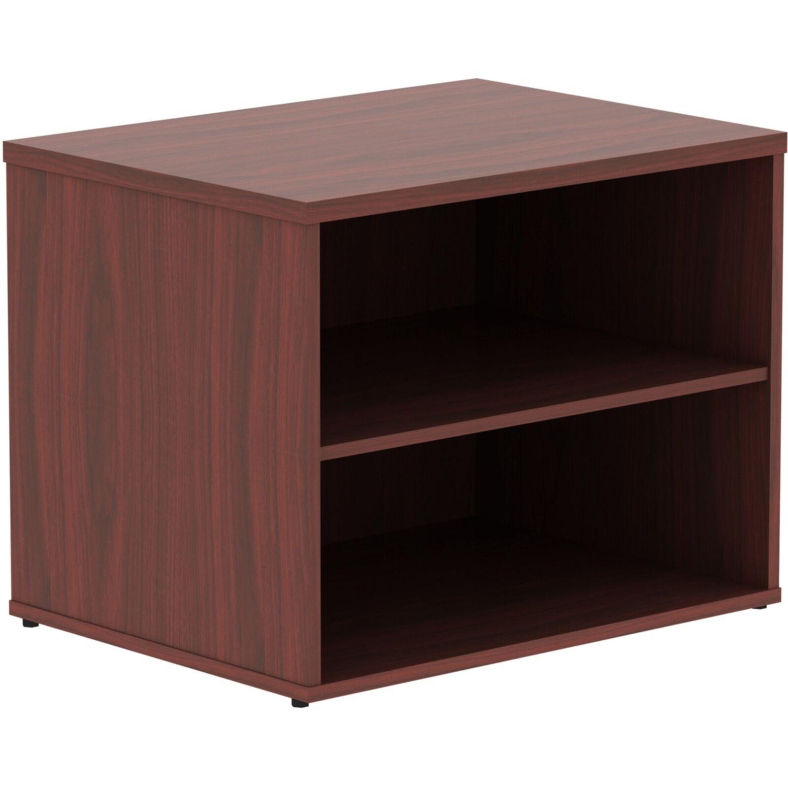 Lorell Relevance Series Mahogany Laminate Office Furniture (llr-16214)