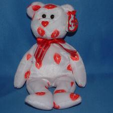 Ty Beanie Baby Smooch - MWMT (Bear Kisses 2000) Valentines