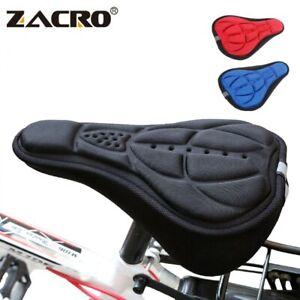 MTB Mountain Bike Saddle Seat Cover Soft 3D-Memory Foam Pad Bicycle Cushion Seat