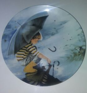 1982 Pemberton /& Oakes Touching the Sky Collector Decorative Childhood Plate Collection