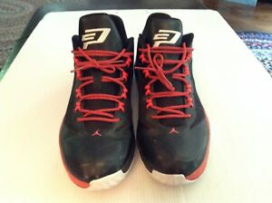 timeless design 5271f 4a1d0 Image is loading Nike-Air-Jordan-CP3-VIII-8-Black-White-