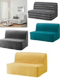 Image Is Loading Ikea Lycksele Two Seat Sofa Bed Covers Only