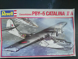 Consolidated-PBY-5-CATALINA-II-A-Revell-Scale-1-72-Kit-4370-Selten