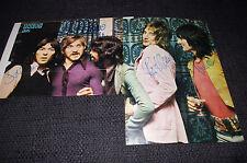 FACES Rod Stewart Ronnie Lane Ian McLagan signed Autogramme auf Poster InPerson