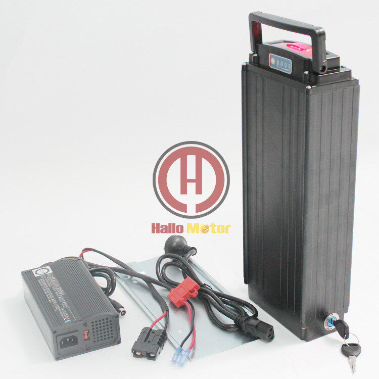 Fast shipping 48V  31.5AH Samsung Cell Rear Carrier Li-ion Battery BMS Ebike  more discount