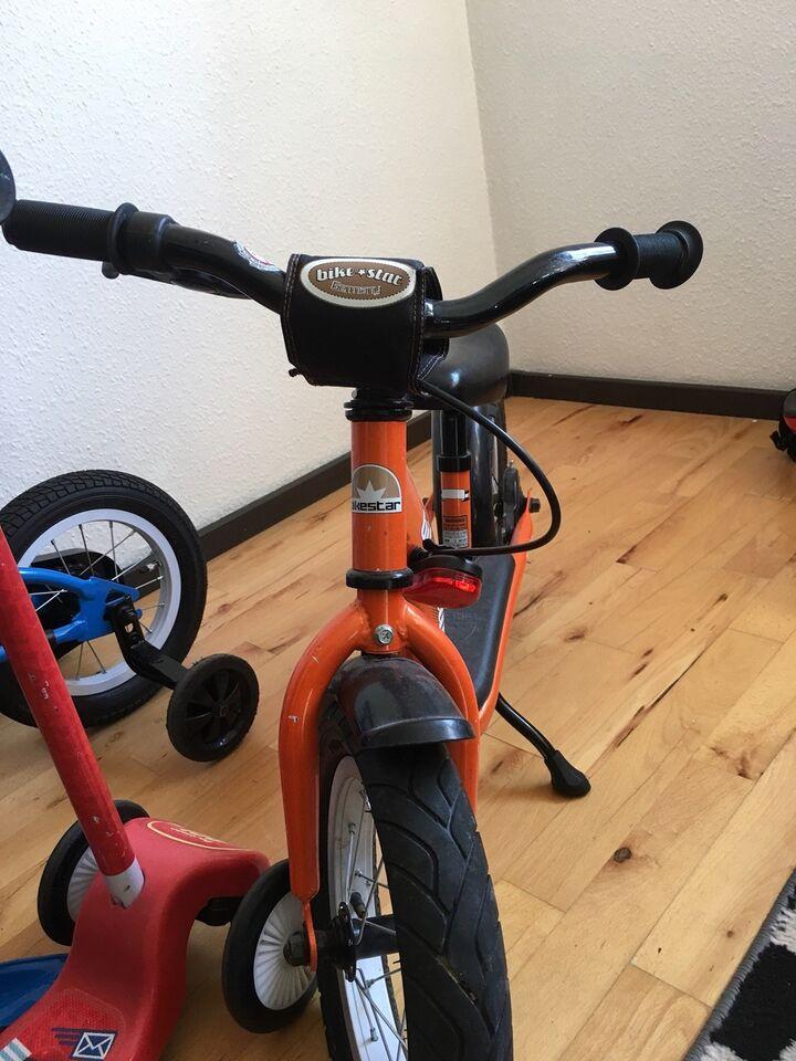 Drengecykel, løbecykel, andet mærke