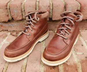 pálido toda la vida enfermero  Womens Clarks Korik Rise GTX Leather Waterproof Boots Gore-Tex Brown US Size  7!! | eBay