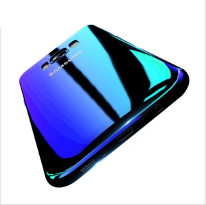 Blu-Ray-Gradient-Colour-Mirror-Hard-Back-Case-Cover-for-iPhone-6-7-8-X-Samsung