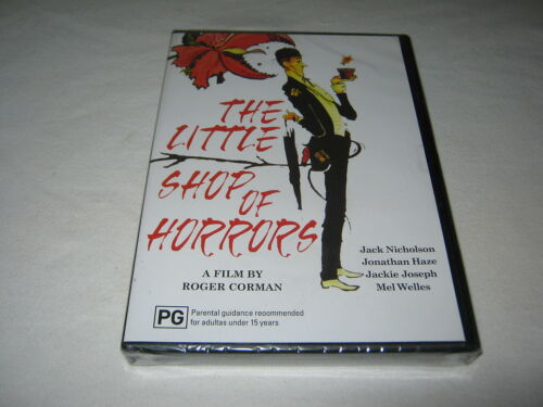 1 of 1 - The Little Shop of Horrors - Jack Nicholson - New Sealed DVD - Region 4