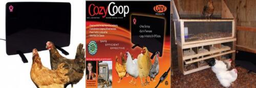 Nero Cozy prodotti CL sicuro pollaio Riscaldatore 200 WATT più sicuro Taglia unica