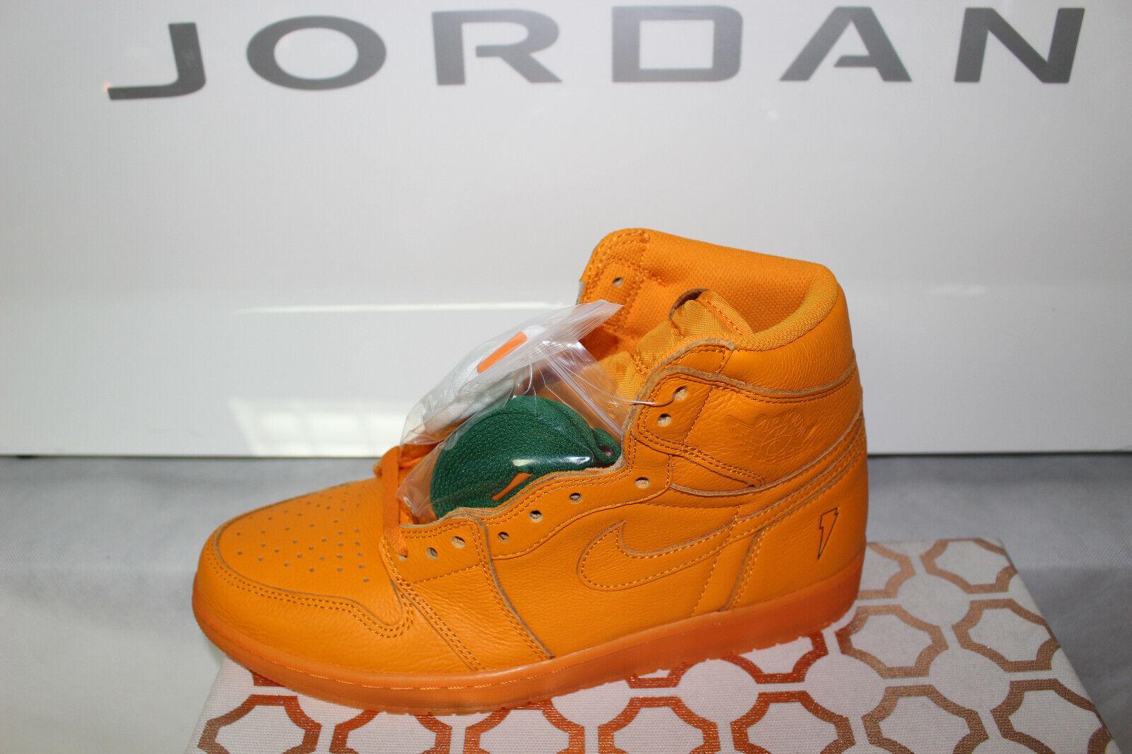 Nike Jordan Retro 1 OG Gatorade orange Peel AJ5997-880, New Size 10.5