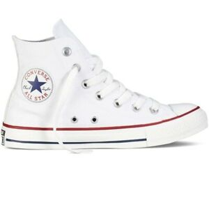 781db93bd3b6e Details about Converse Chuck Taylor All Star High Top Canvas Men Shoes  Optical White M7650