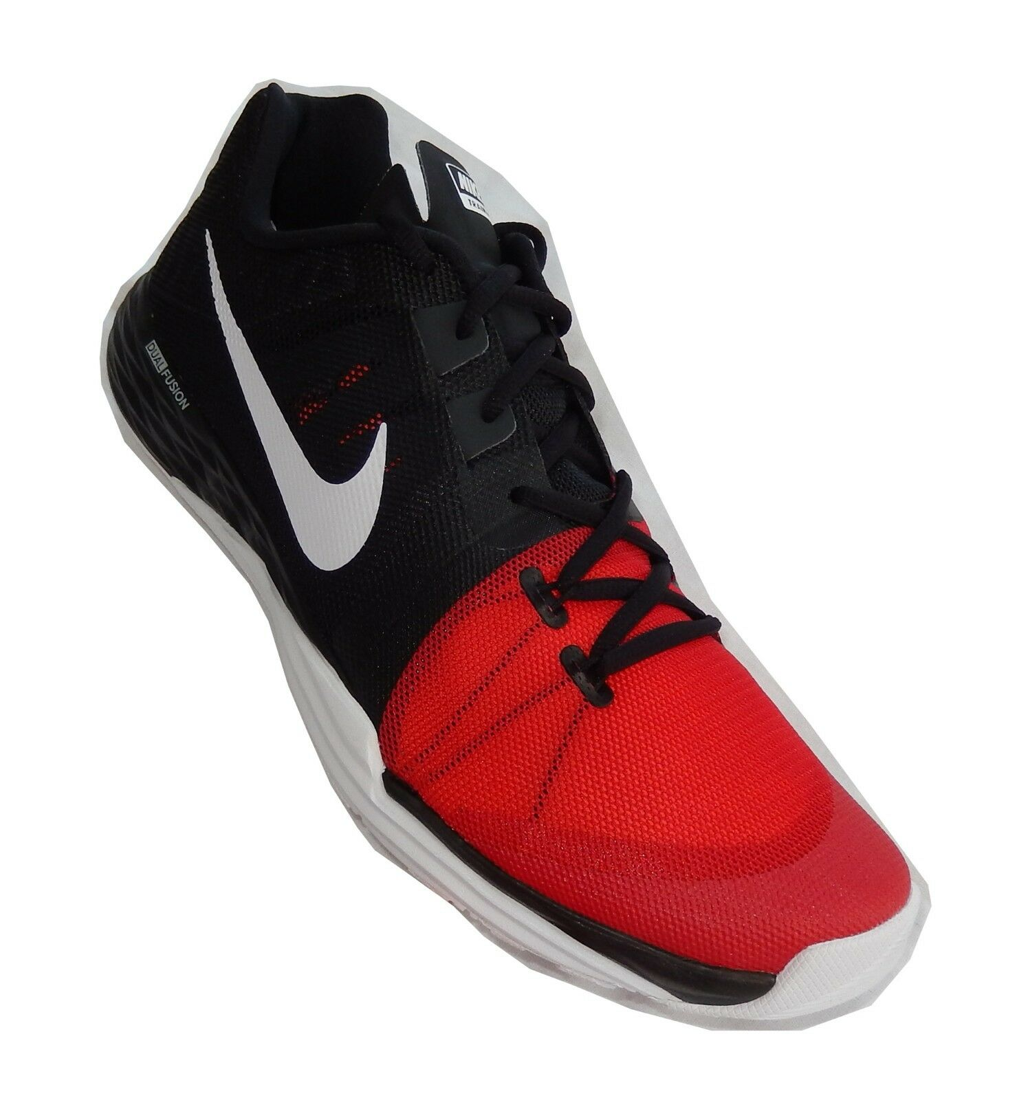 NIKE Men's Train Prime Iron DF Cross Trainer,Black White University Red Anthraci