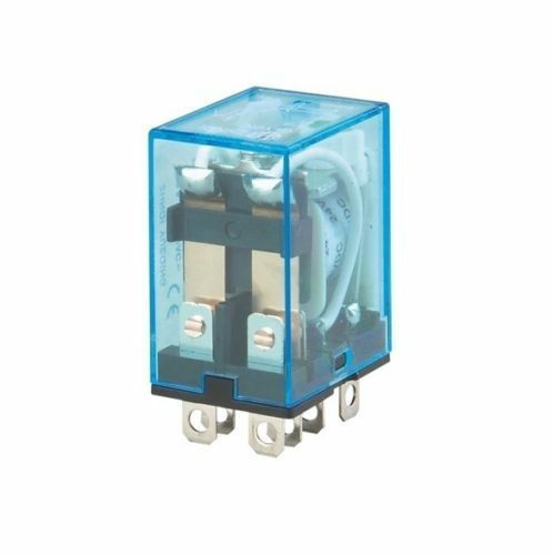 AC 220V DC12V Coil Power Relay 8Pin 10A DPDT LY2NJ HH62P HHC68A-2Z Socket Base L