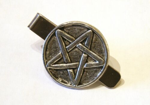 Five Pointed Star tie slide Tie clip Mens wear Magical Mythical gift