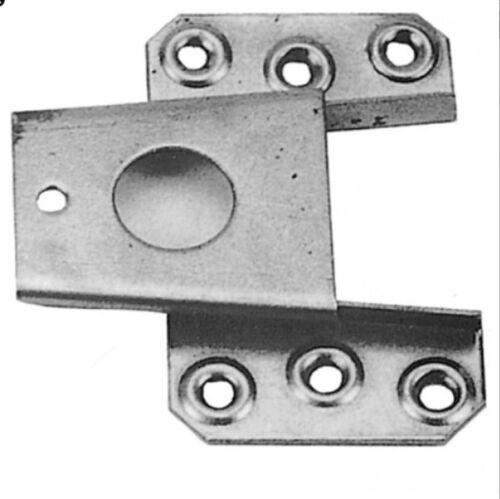 Keilbeschlag unten Eisen 60x80mm für Schrank Seiten Kronen Verbindungen