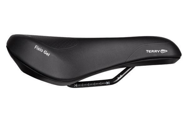 Terry fisio gel trekking sillín bici de comodidad acolchado negro mujer o caballeros