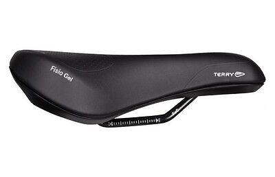Terry Fisio Gel Trekking Fahrradsattel Komfort-Polsterung Schwarz Damen o Herren