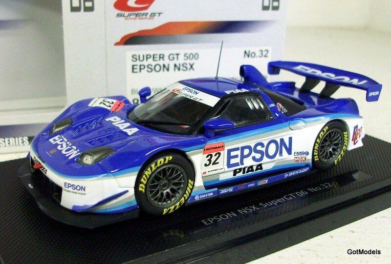 EBBRO 1 43 - 801 HONDA NSX SUPER GT 2006   32-Modèle Moulé Sous Pression Voiture