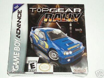 Top Gear Rally Gba GAME NEUF