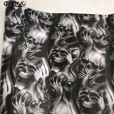 ERREINGE Punisher Sticker bomb T/ête de mort en vinyle Argent/é 10 cm