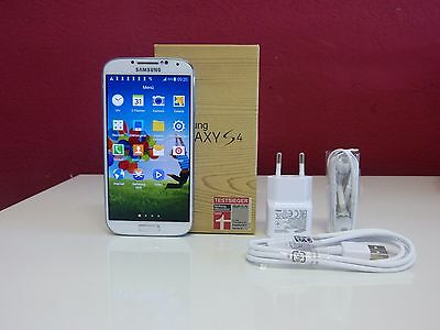 Samsung  Galaxy S4 GT-I9505 - 16GB - White Frost (Ohne Simlock)  TOP Smartphone