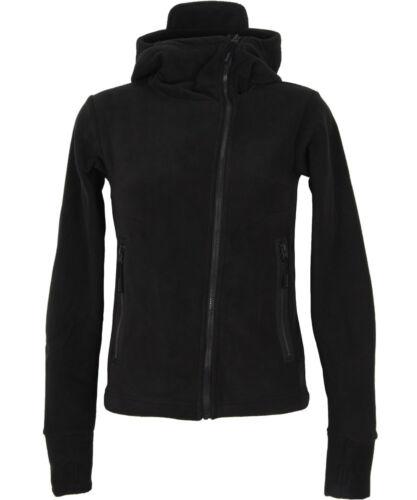 Assymetric Jacket Black Fleece Zip Hood Ninja Jacket Bench Black Bqw6FC5qx