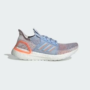 Details about Adidas Running Ultra Boost 19 Blue Coral White Women Ultraboost gym shoes G27483